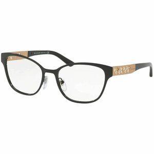 Bvlgari Square Style Eyeglasses Black W/Demo Lens